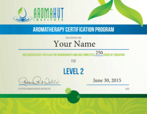 Become a Certified Aromatherapist | Aroma Hut Institute