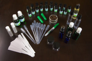Supplies used for Aromatherapy Certification Online Home Study Course | Aroma Hut Institute